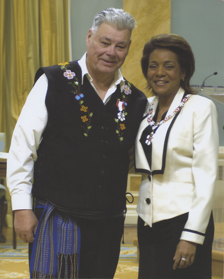 John Arcand receives Order of Canada